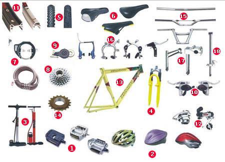 экипировка для велосипеда
