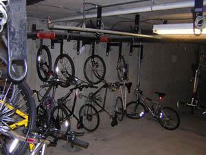 Хранение велосипеда в зимнее время.